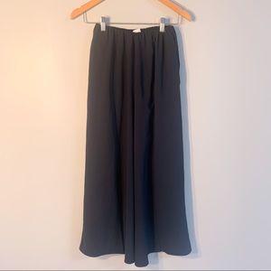 Oak+Fort Navy Split hem trousers